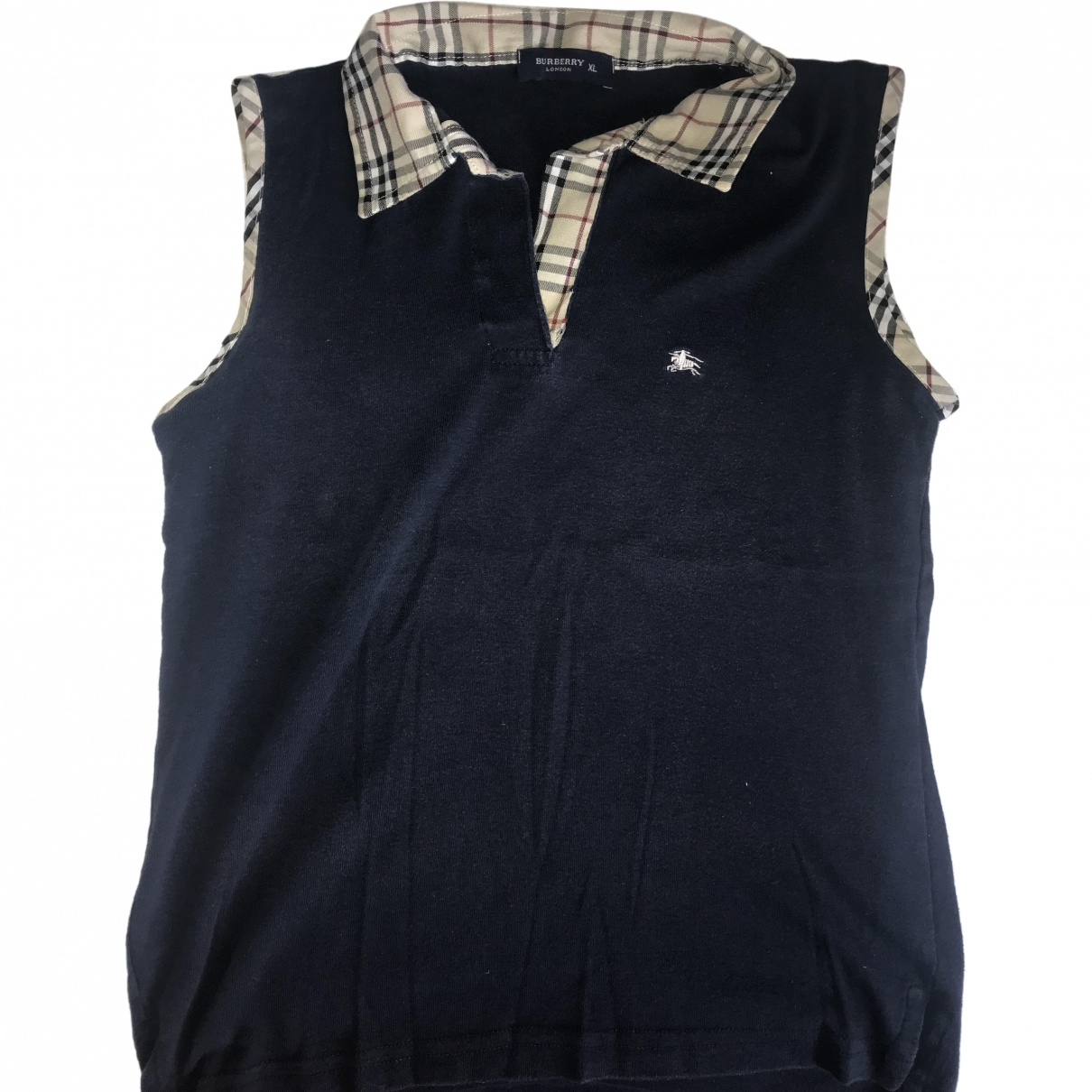 Burberry \N Navy Cotton  top for Women 42 FR