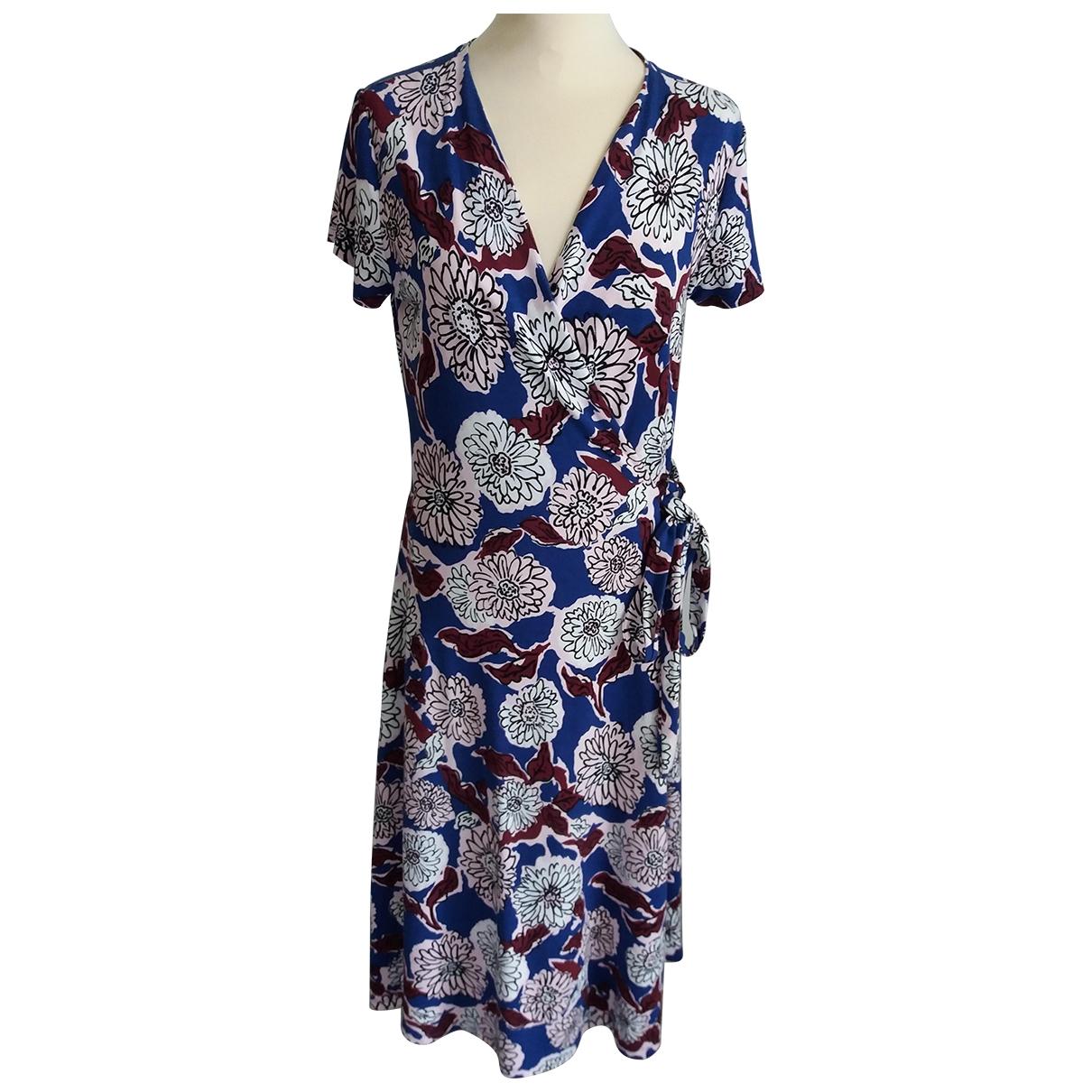 Max Mara Weekend \N Kleid in  Blau Baumwolle - Elasthan