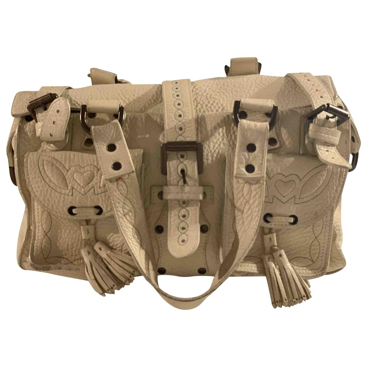 Mulberry Roxanne Beige Patent leather handbag for Women \N