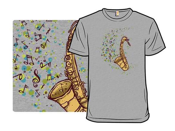 Addicted To Sax T Shirt