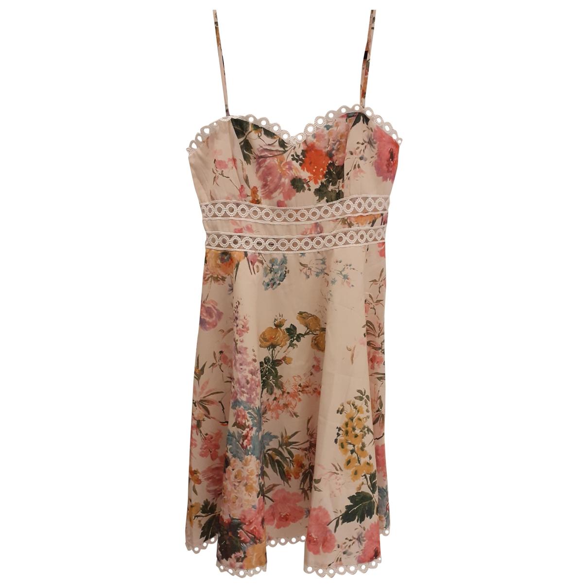 Non Signé / Unsigned \N Ecru dress for Women M International