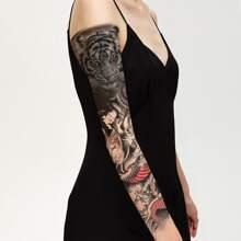 Tattoo Aufkleber mit Drachen Muster