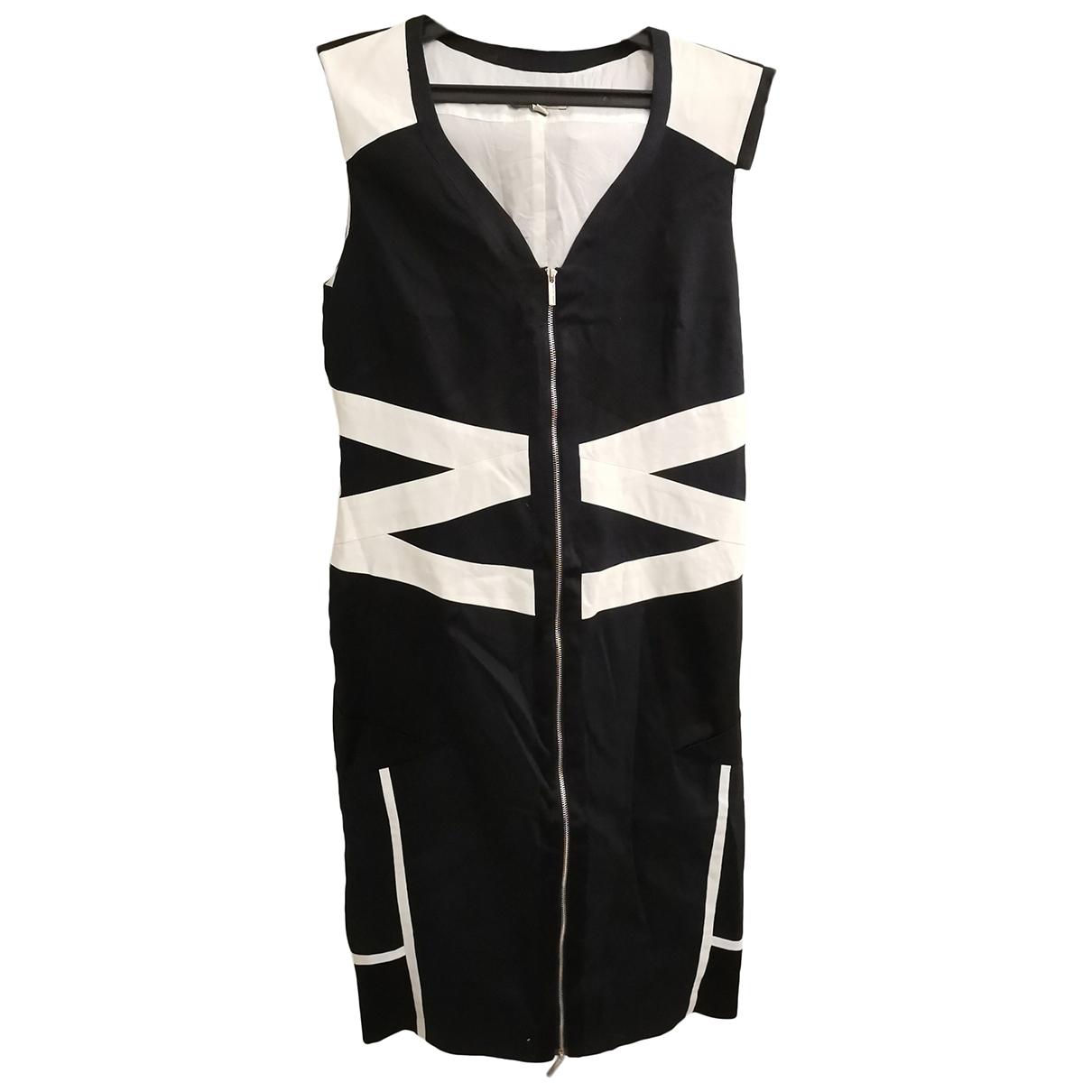 Karen Millen - Robe   pour femme en coton - noir