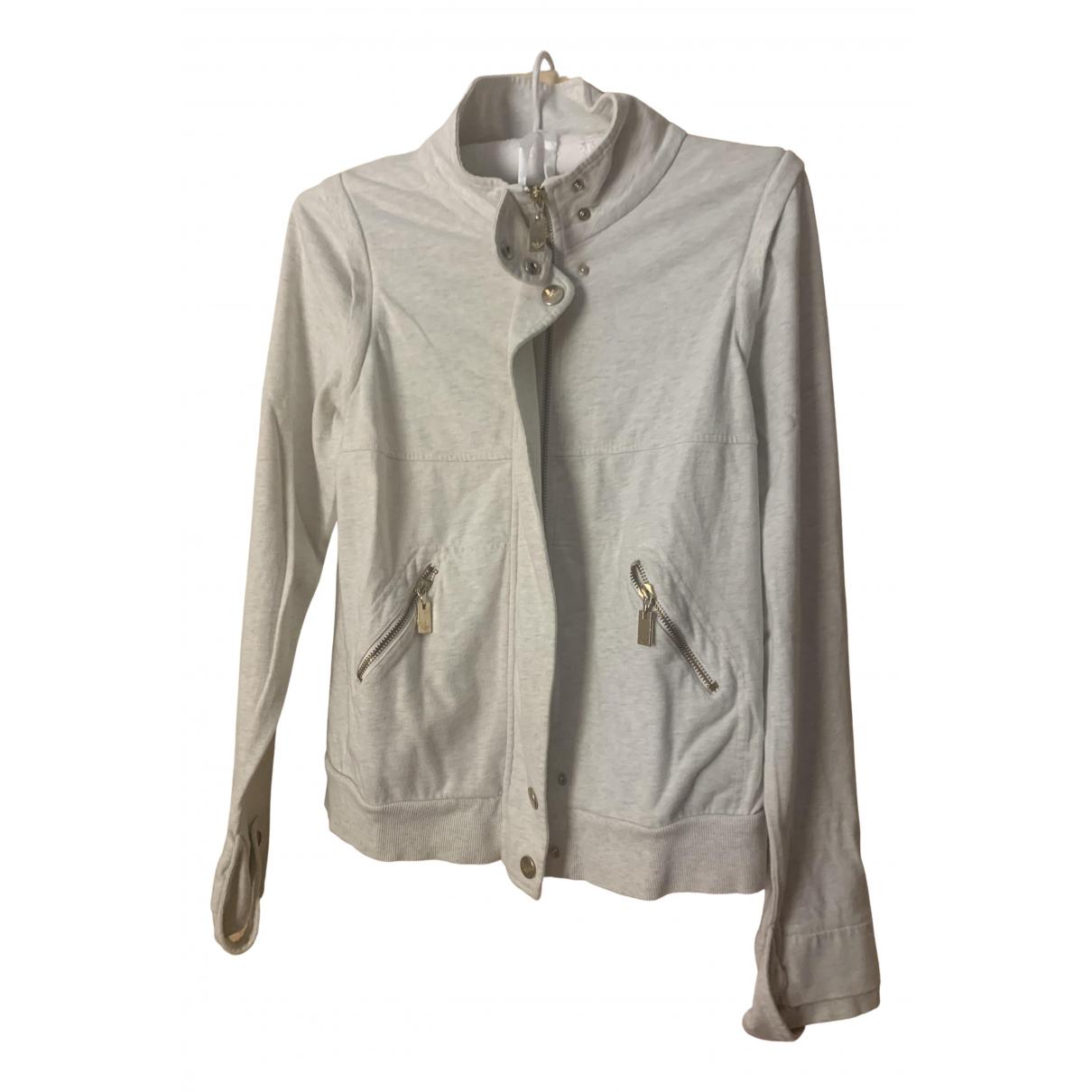 Armani Jean - Pull   pour femme en coton - gris