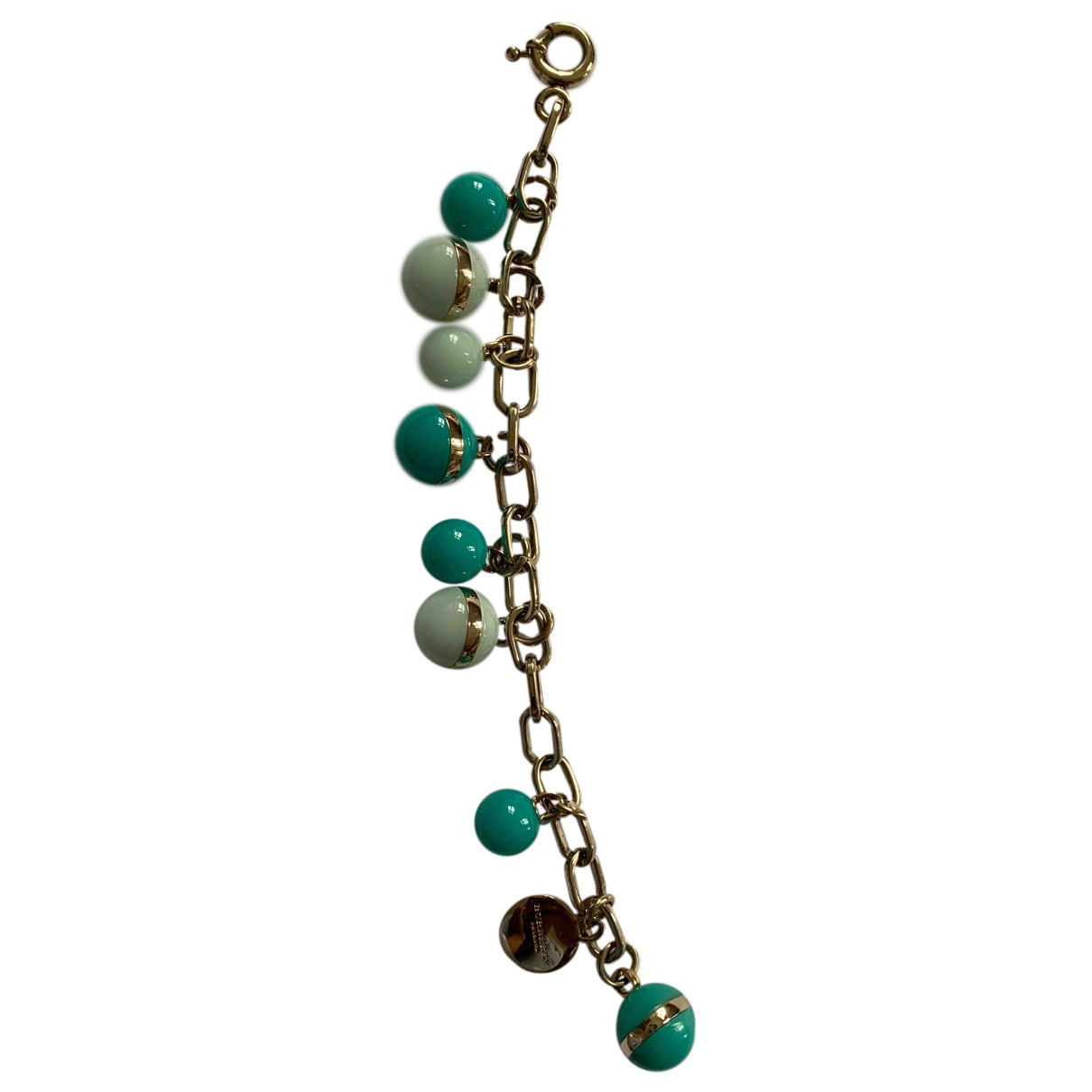 Burberry N Green Metal bracelet for Women N