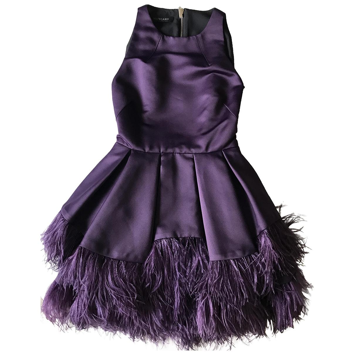 Mangano \N Kleid in  Lila Polyester