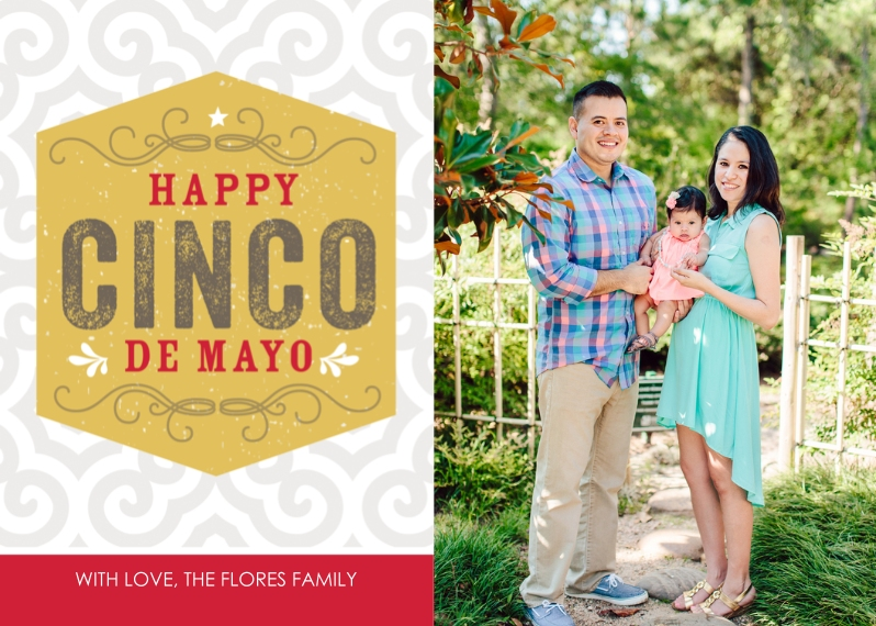 Father's Day 5x7 Cards, Premium Cardstock 120lb with Elegant Corners, Card & Stationery -Southwestern Cinco