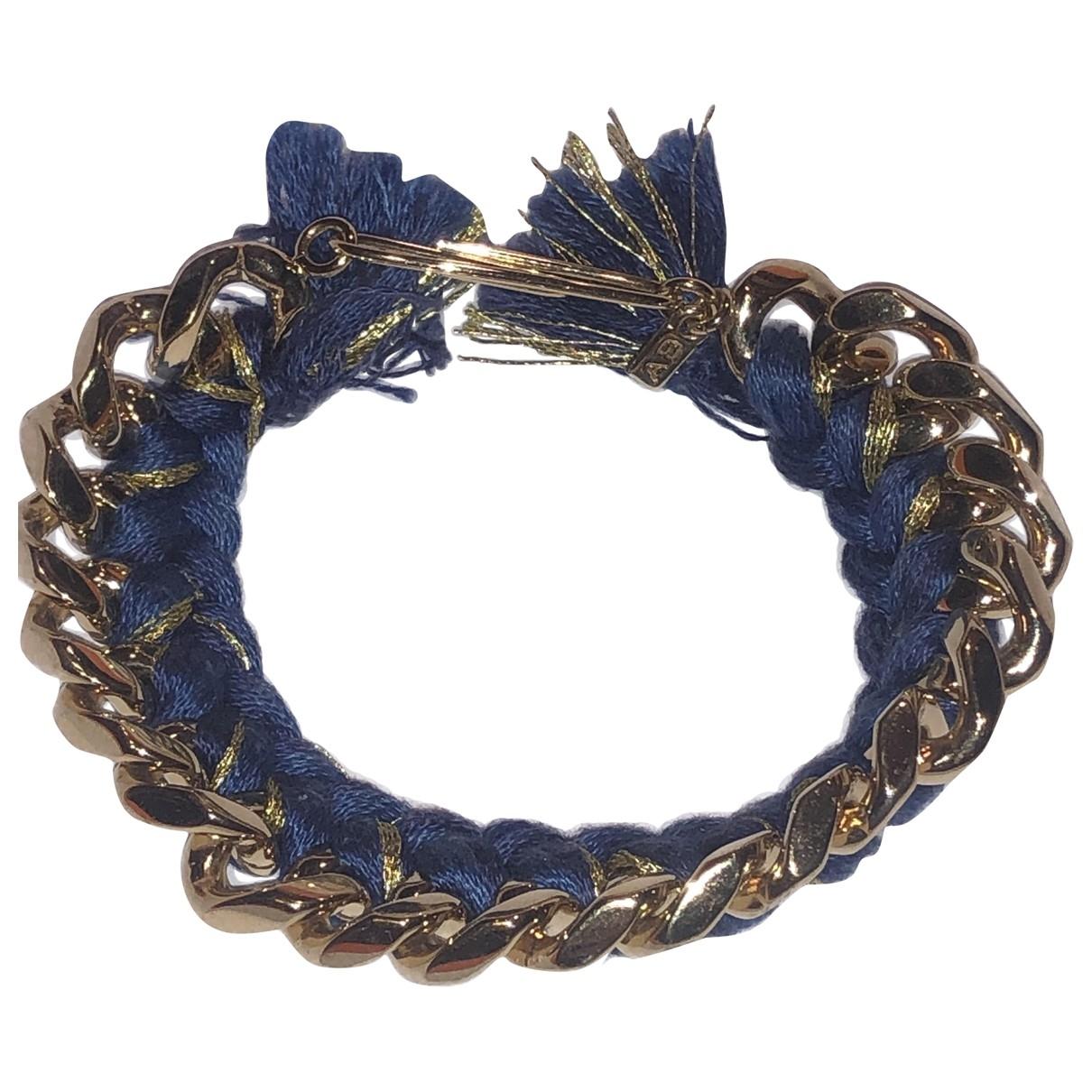 Aurelie Bidermann Tressee Armband in  Blau Ketten