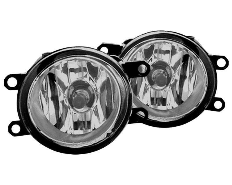 Winjet WJ30-0279-09 Clear OEM Style Fog Lights Toyota 4Runner 10-14