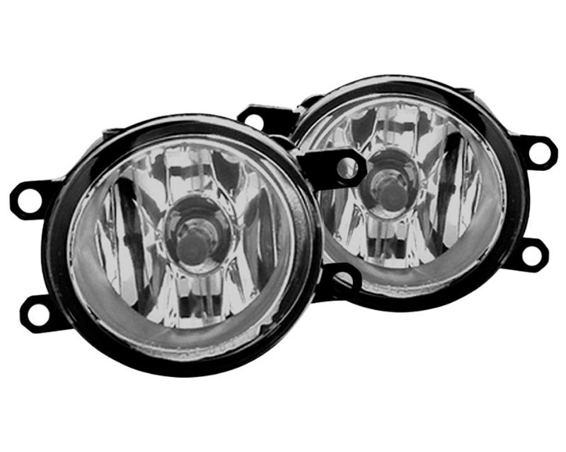 Winjet WJ30-0279-09 Clear OEM Style Fog Lights Toyota Matrix 09-12