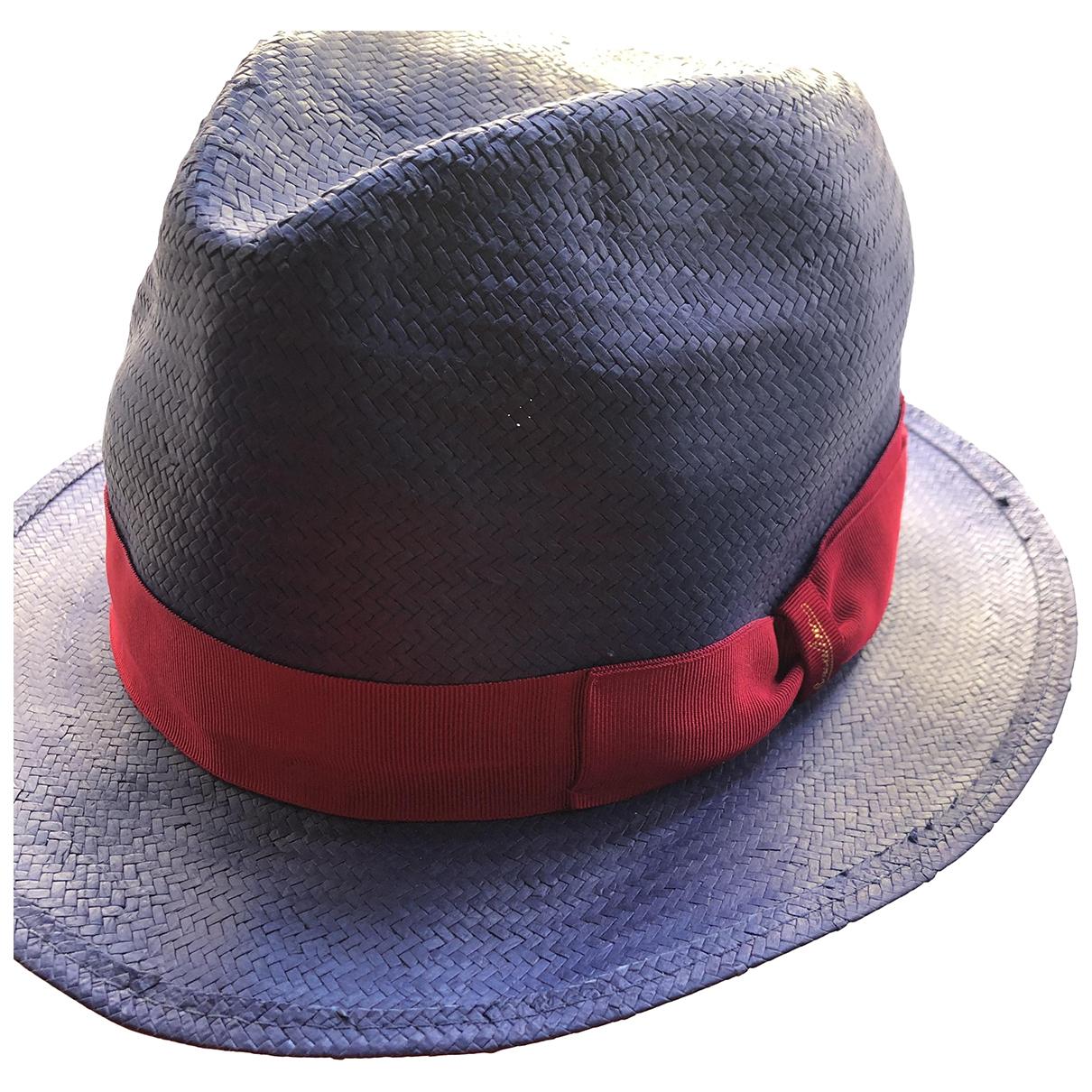 Borsalino - Chapeau   pour femme en autre - violet