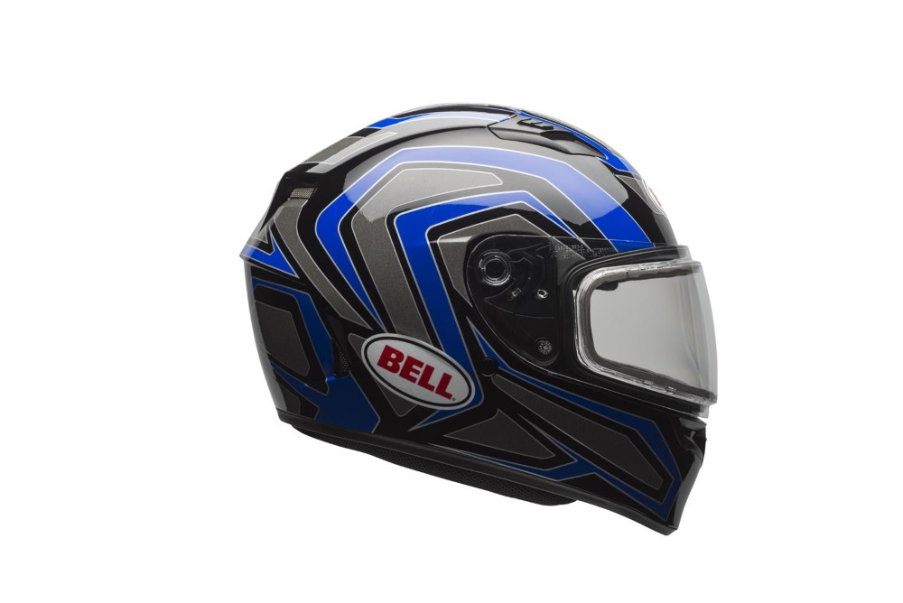 Bell Racing 7076130 Qualifier Snow Helmet w/ Electric Shield