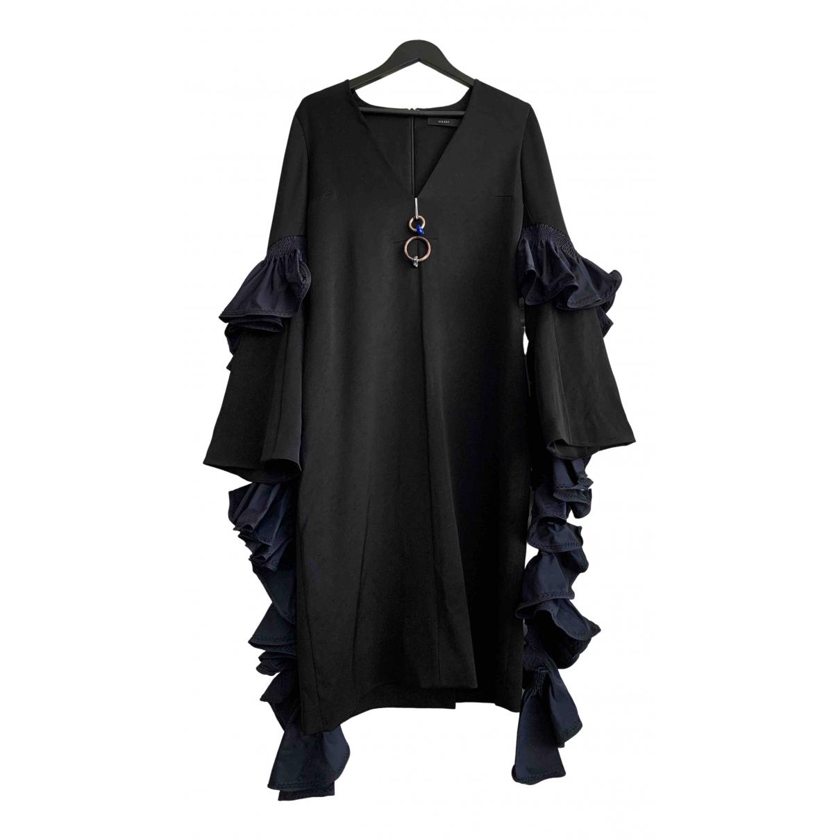 Ellery \N Kleid in  Schwarz Polyester