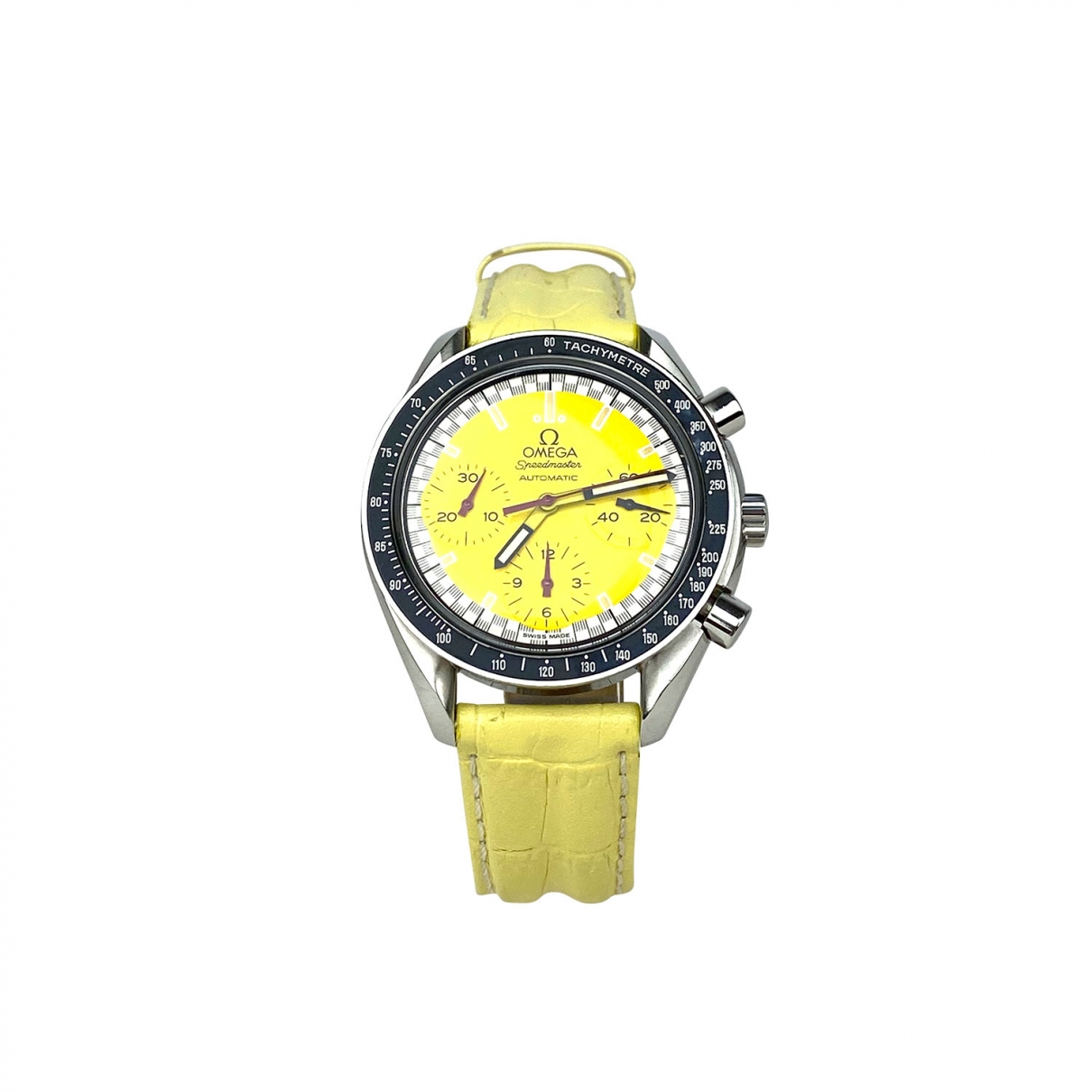Omega Speedmaster reduced Yellow Steel watch for Men \N