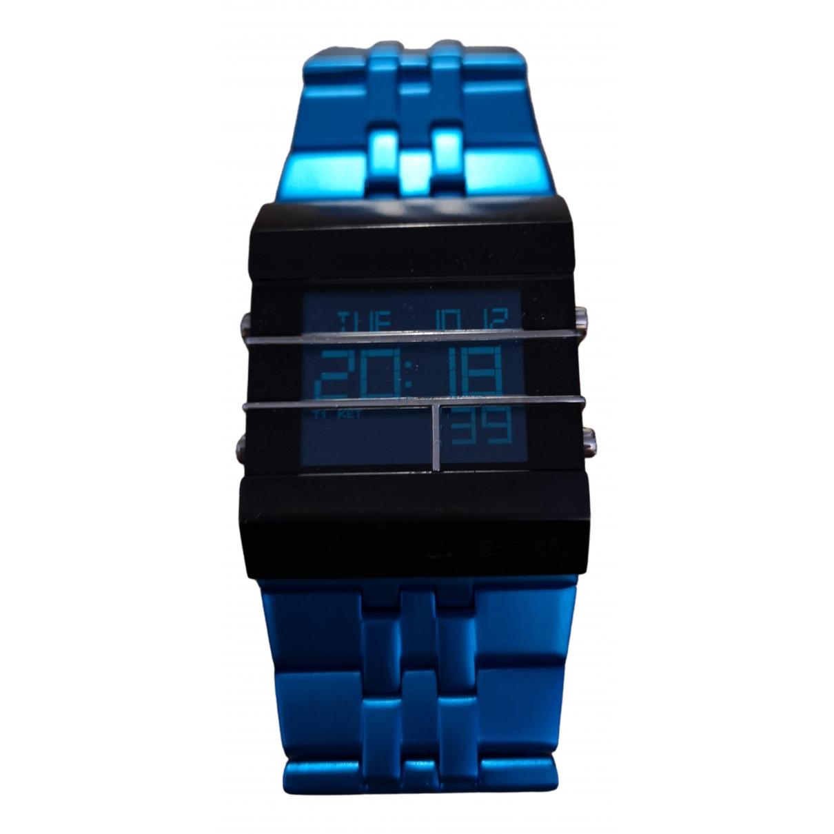 Diesel - Montre   pour homme en acier - bleu