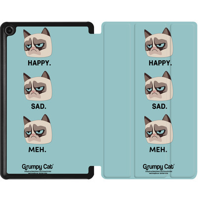 Amazon Fire 7 (2017) Tablet Smart Case - Facial Expressions von Grumpy Cat