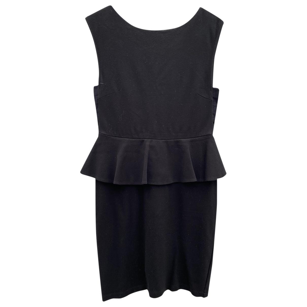 Alice & Olivia \N Kleid in  Schwarz Baumwolle