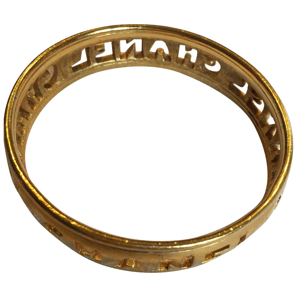 Chanel CC Armband in  Gold Vergoldet