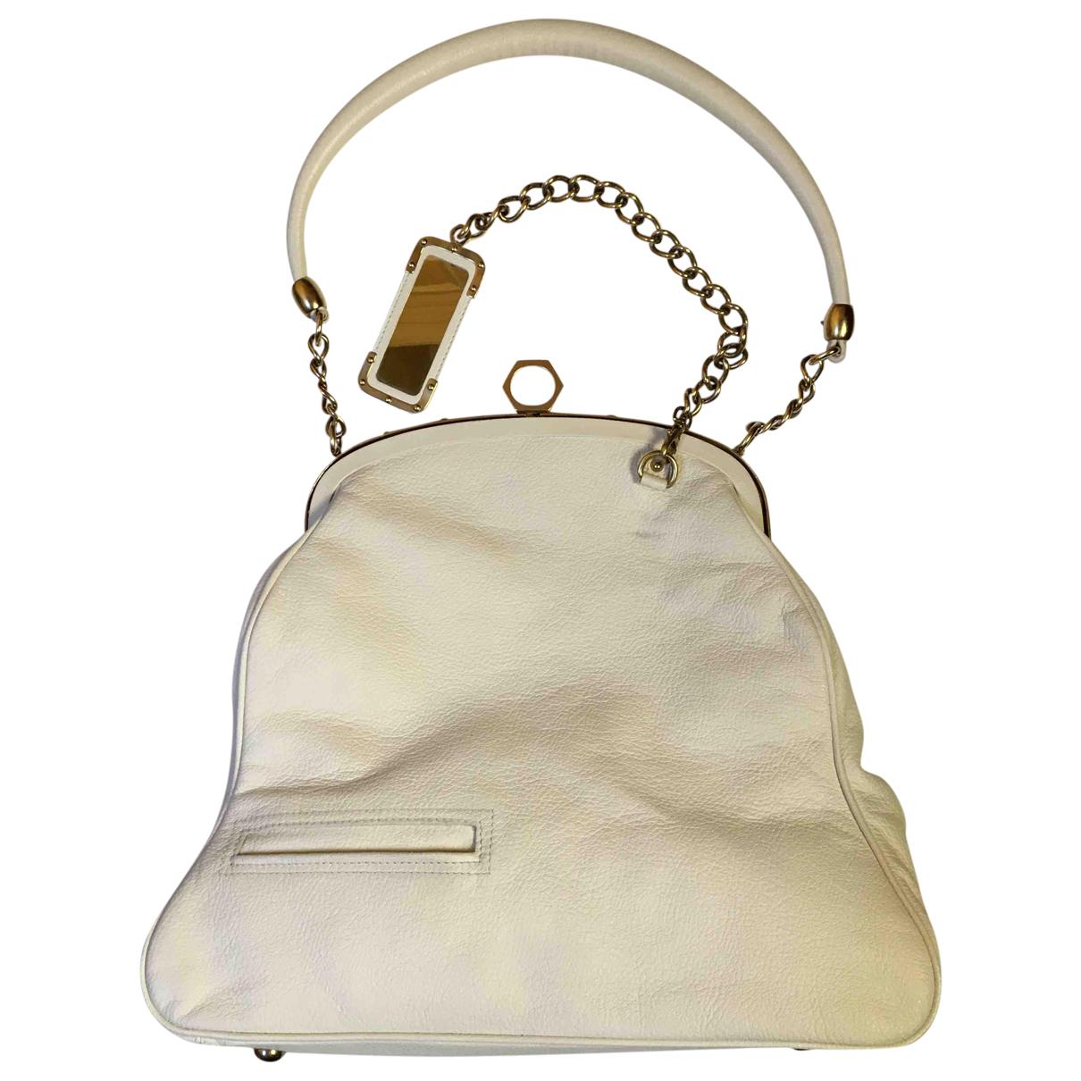 Zac Posen \N Handtasche in  Weiss Leder