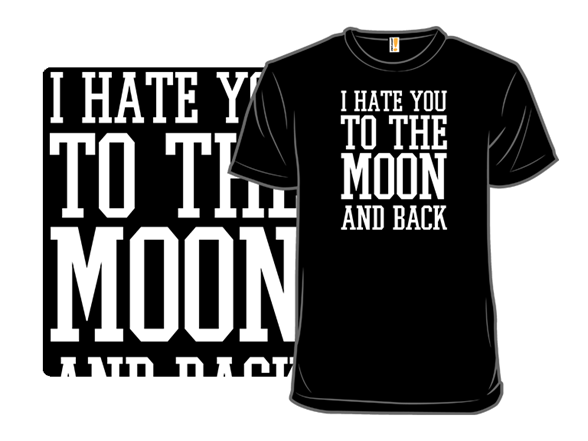 To The Moon And Back T Shirt