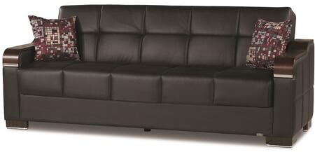 Uptown Collection UPTOWN SOFABED BLACK PU 11-448 86