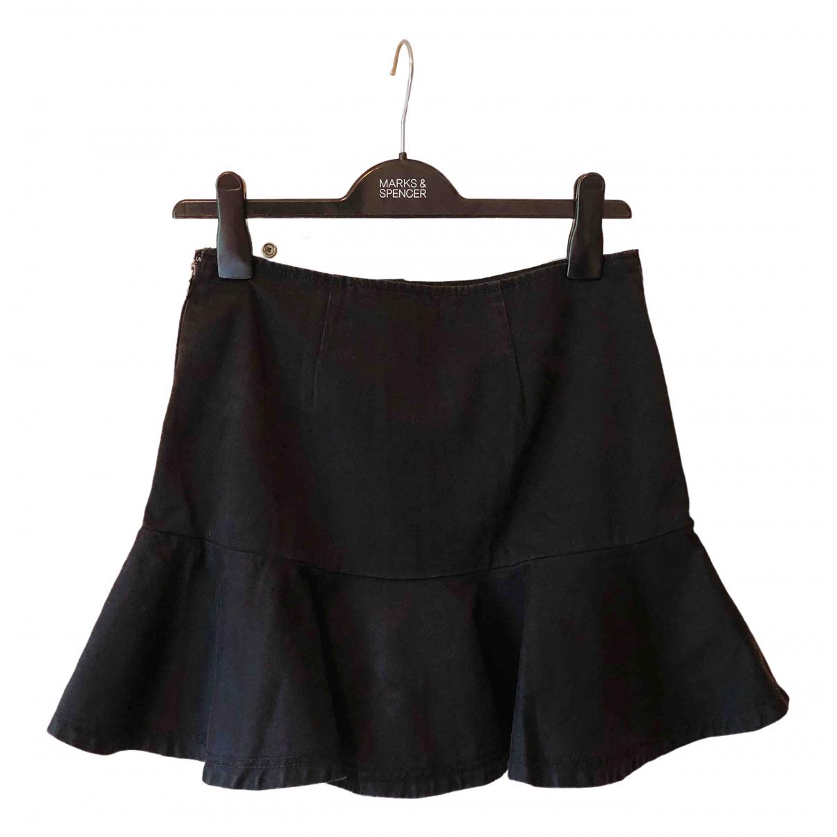 Marc By Marc Jacobs - Jupe   pour femme en coton - noir