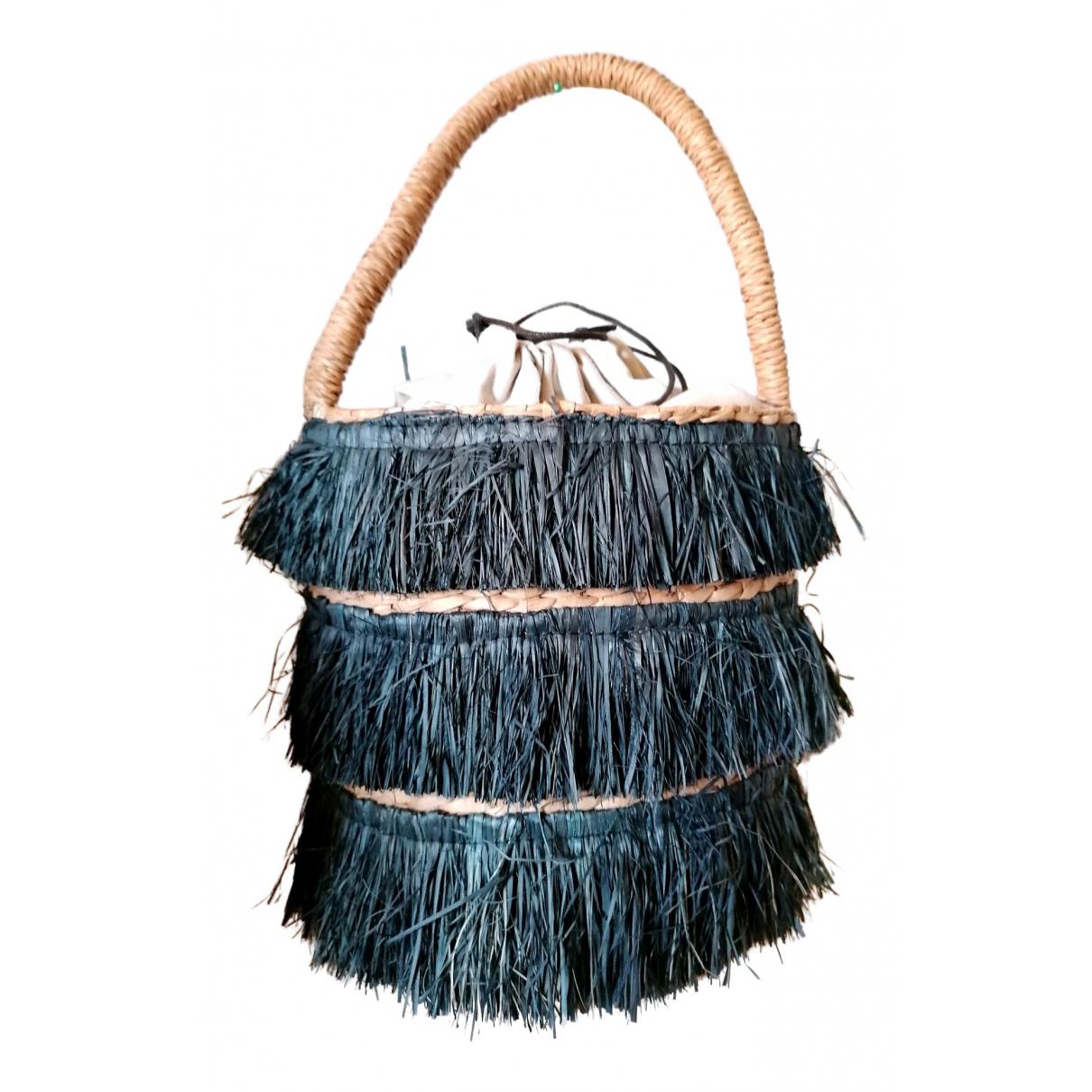 Kayu N Brown Wicker handbag for Women N