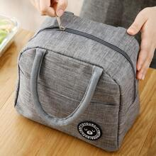 1pc Large Portable Insulation Lunch Bag