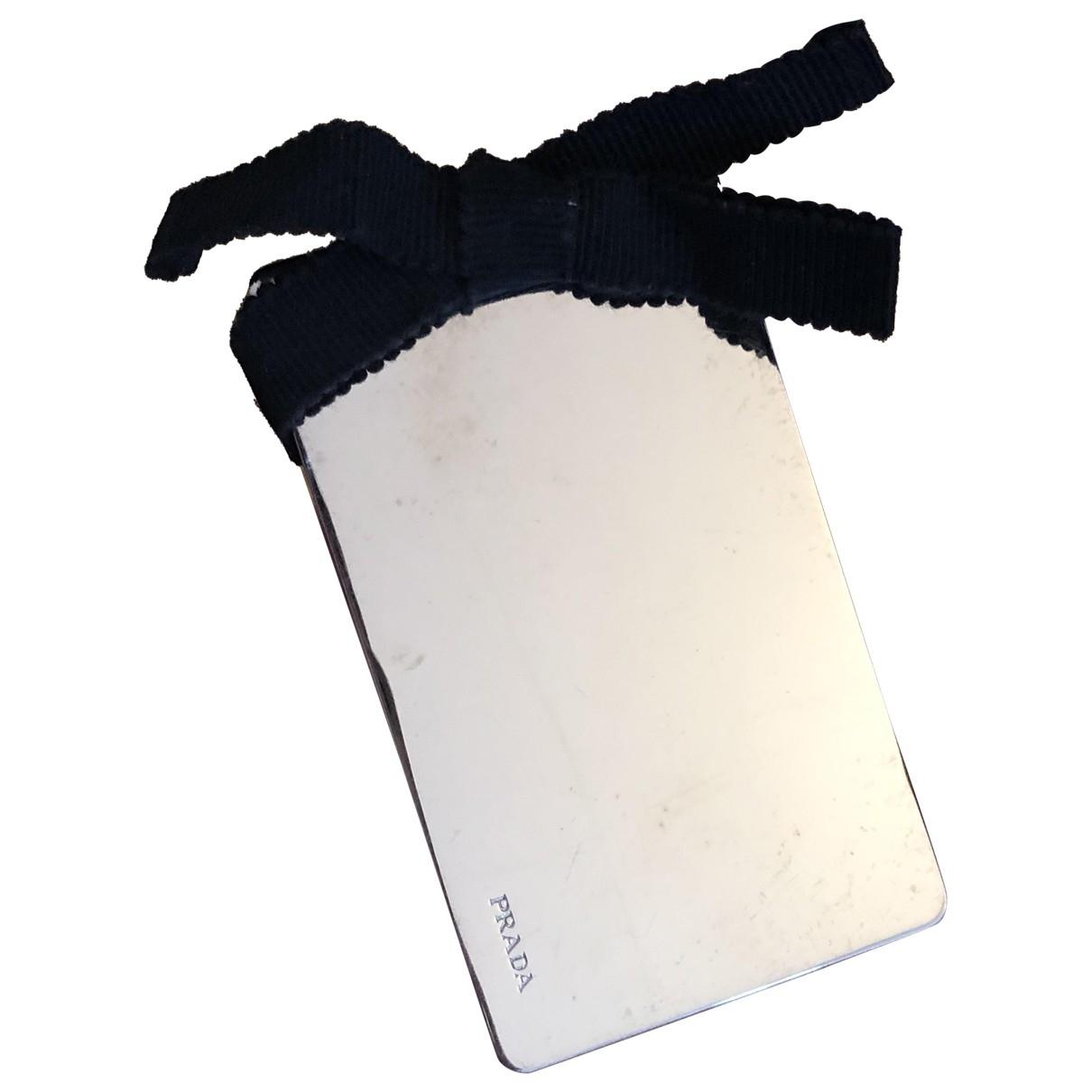 Prada - Bijoux de sac   pour femme en metal - argente