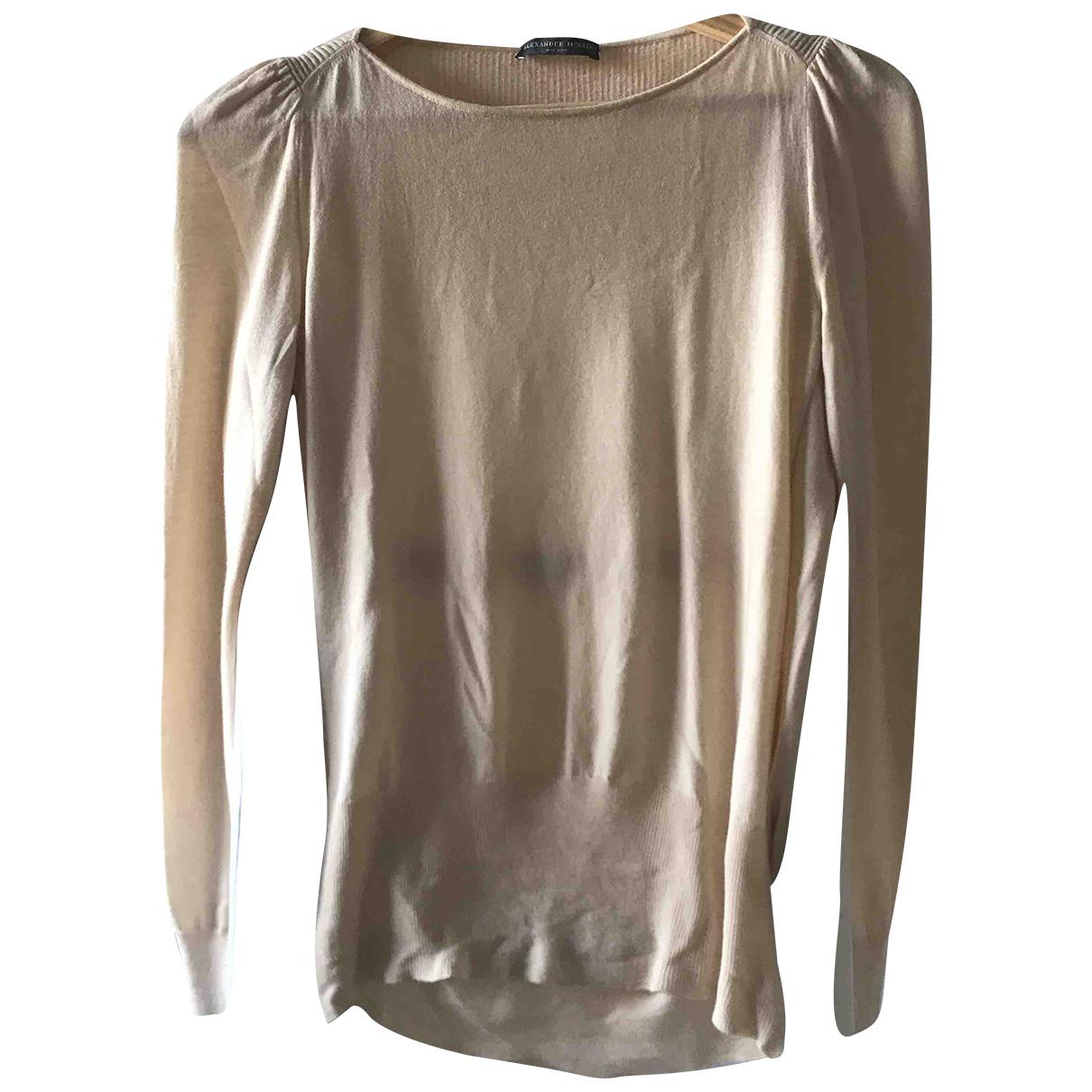 Alexander Mcqueen N Pink Wool Knitwear for Women XS International