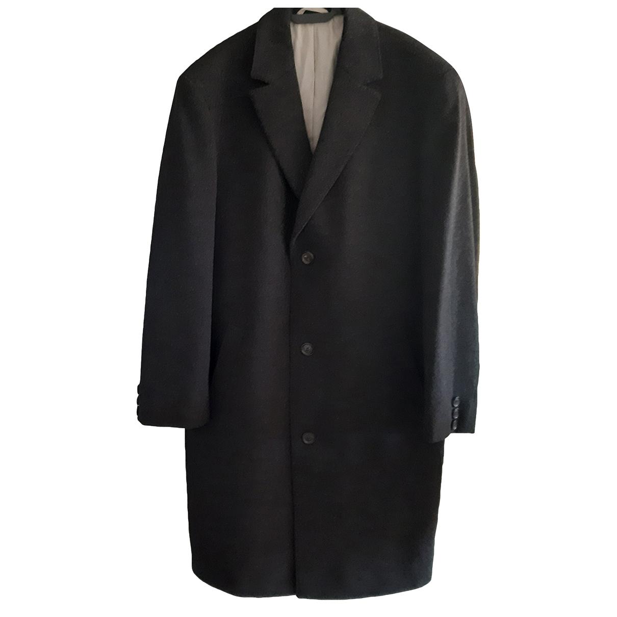 Boss - Manteau   pour homme en laine - gris