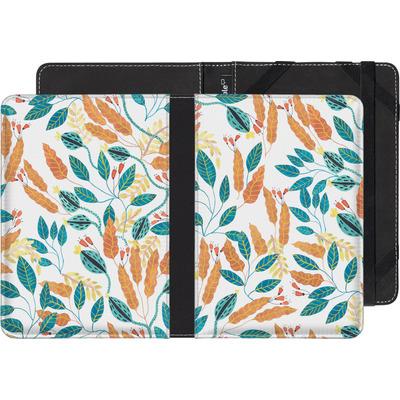 Sony Reader PRS-T3 eBook Reader Huelle - Wild Leaves von Iisa Monttinen