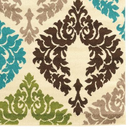 RUGCT1481 8 x 10 Rectangle Area Rug in