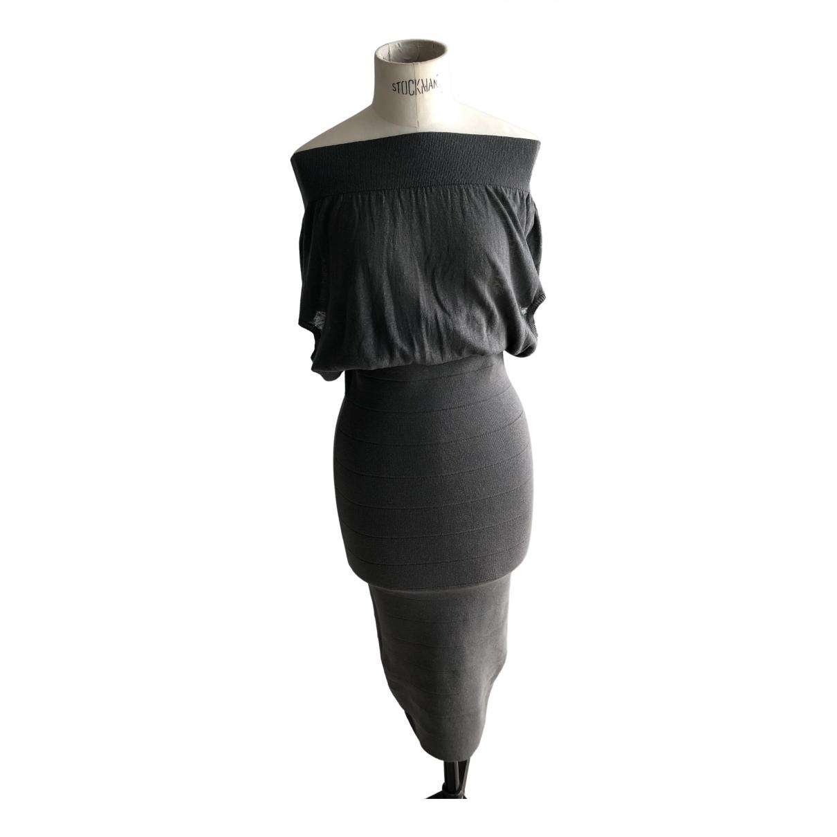 Stella Mccartney \N Kleid in  Grau Seide