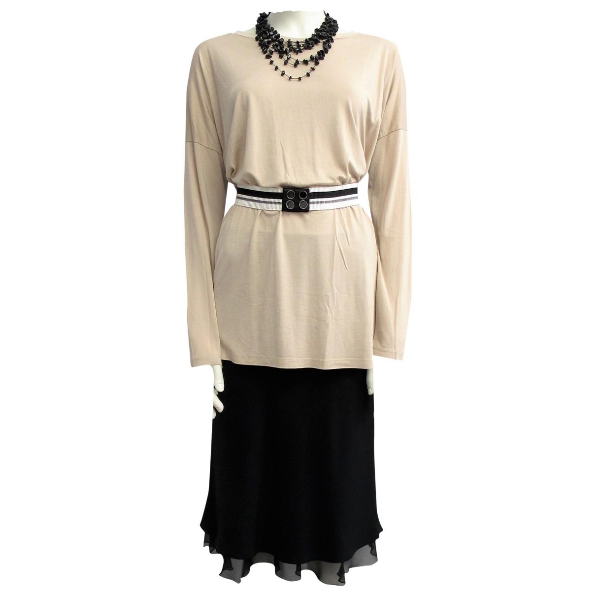Max & Co \N Black Silk dress for Women 44 IT