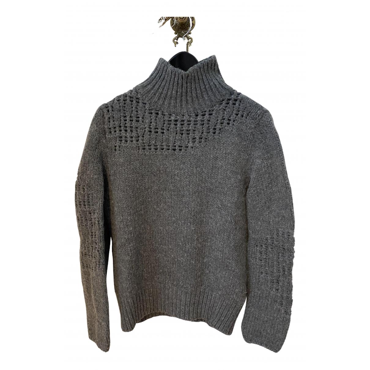 Diesel Black Gold \N Pullover.Westen.Sweatshirts  in  Grau Wolle