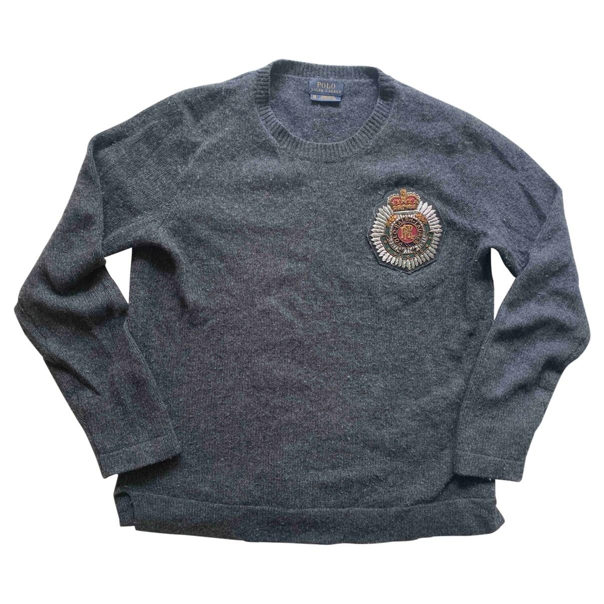 Polo Ralph Lauren \N Anthracite Wool Knitwear for Women XS International