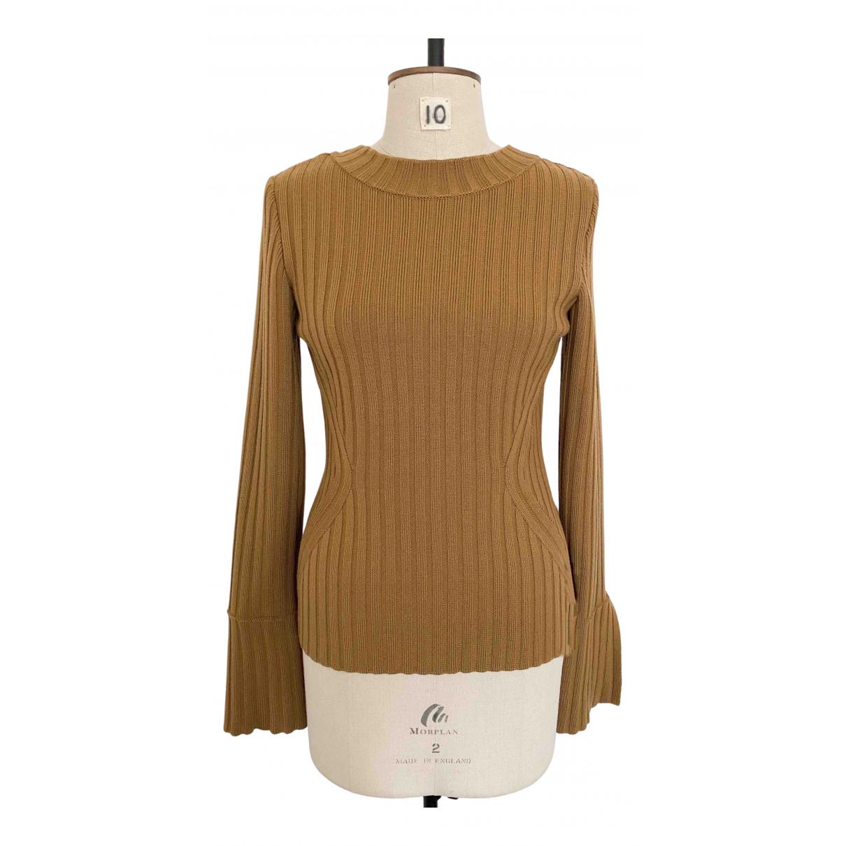 Alberta Ferretti - Pull   pour femme en laine - beige