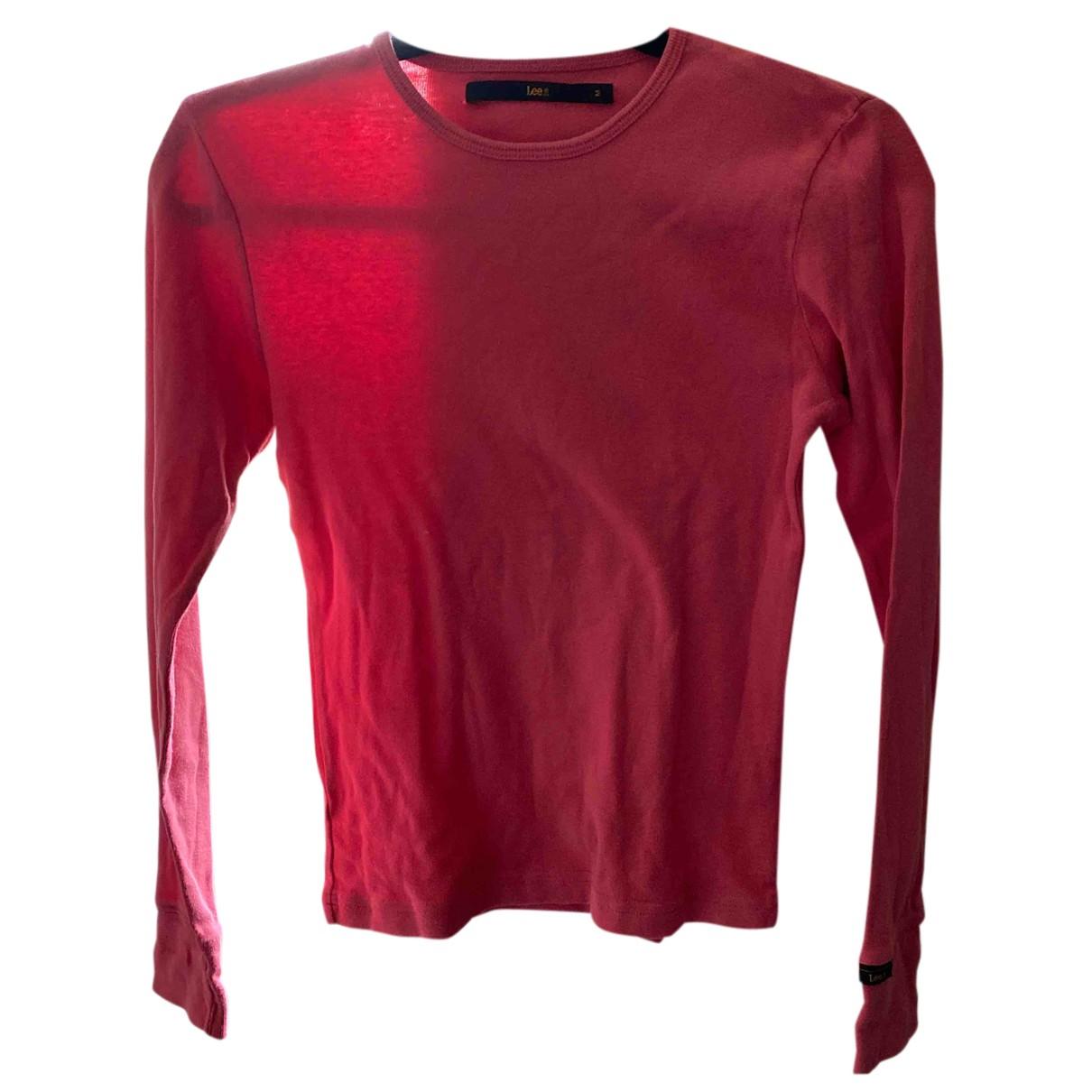 Lee - Pull   pour femme en coton - rose