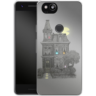 Google Pixel 2 Silikon Handyhuelle - Haunted By The 80s von Terry Fan