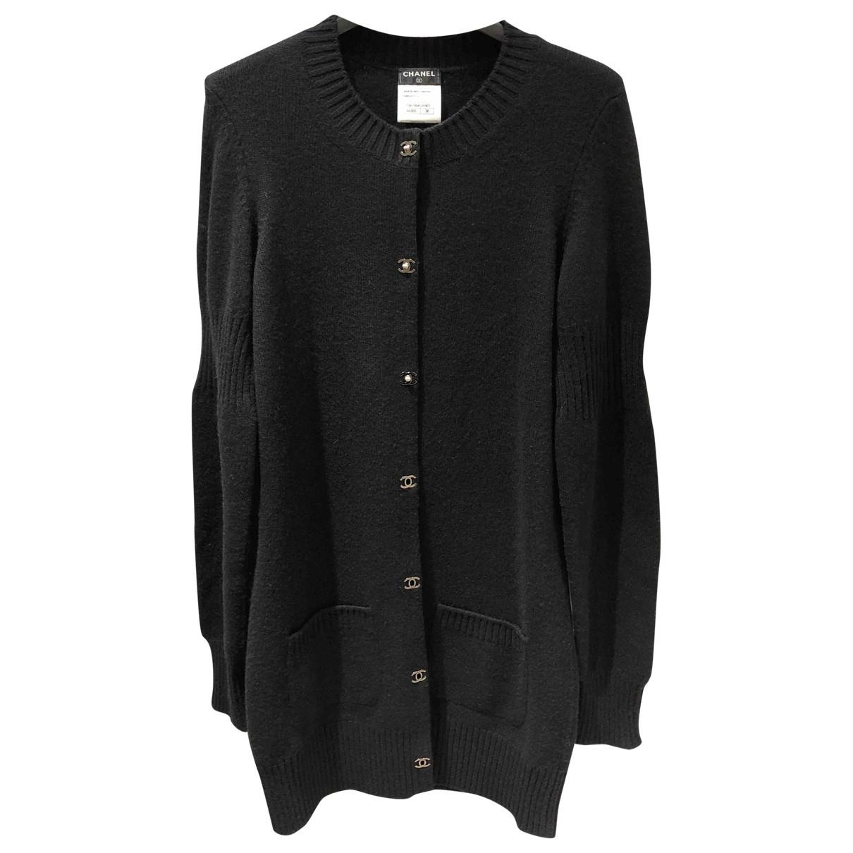 Chanel \N Black Cashmere Knitwear for Women 38 FR