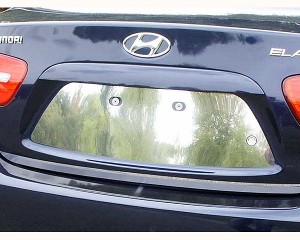 Quality Automotive Accessories 1-Piece License Plate Bezel Hyundai Elantra 2009