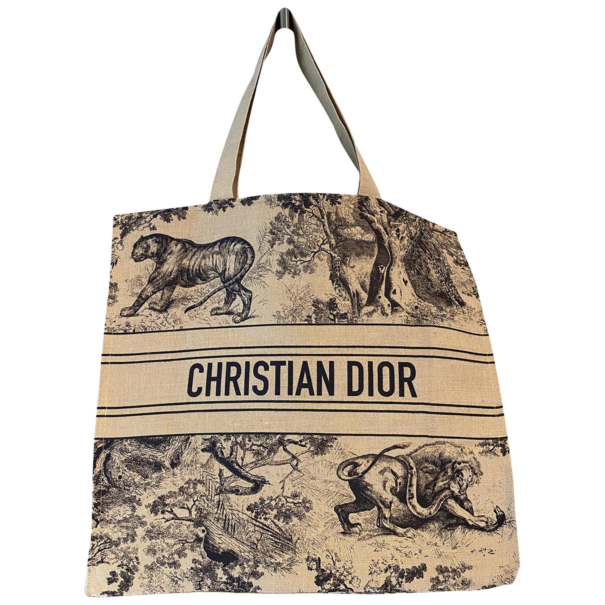 Cabas de Lona Dior