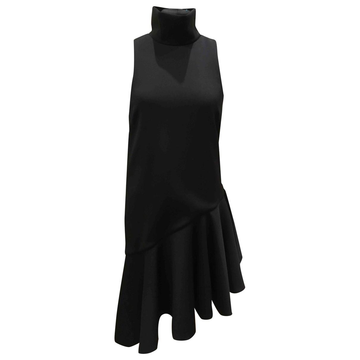 C/meo \N Kleid in  Schwarz Polyester