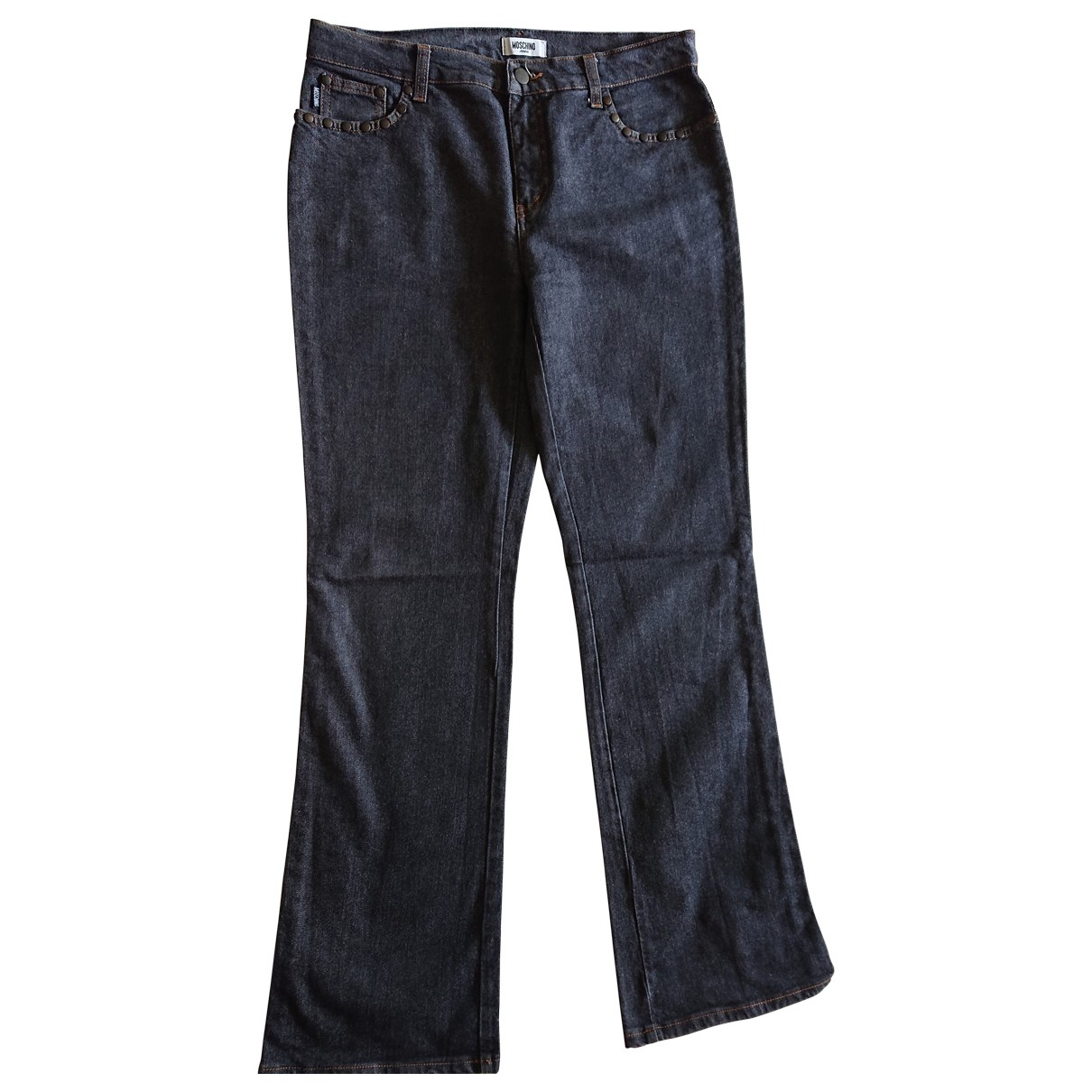Moschino Cheap And Chic \N Blue Denim - Jeans Jeans for Women 33 US