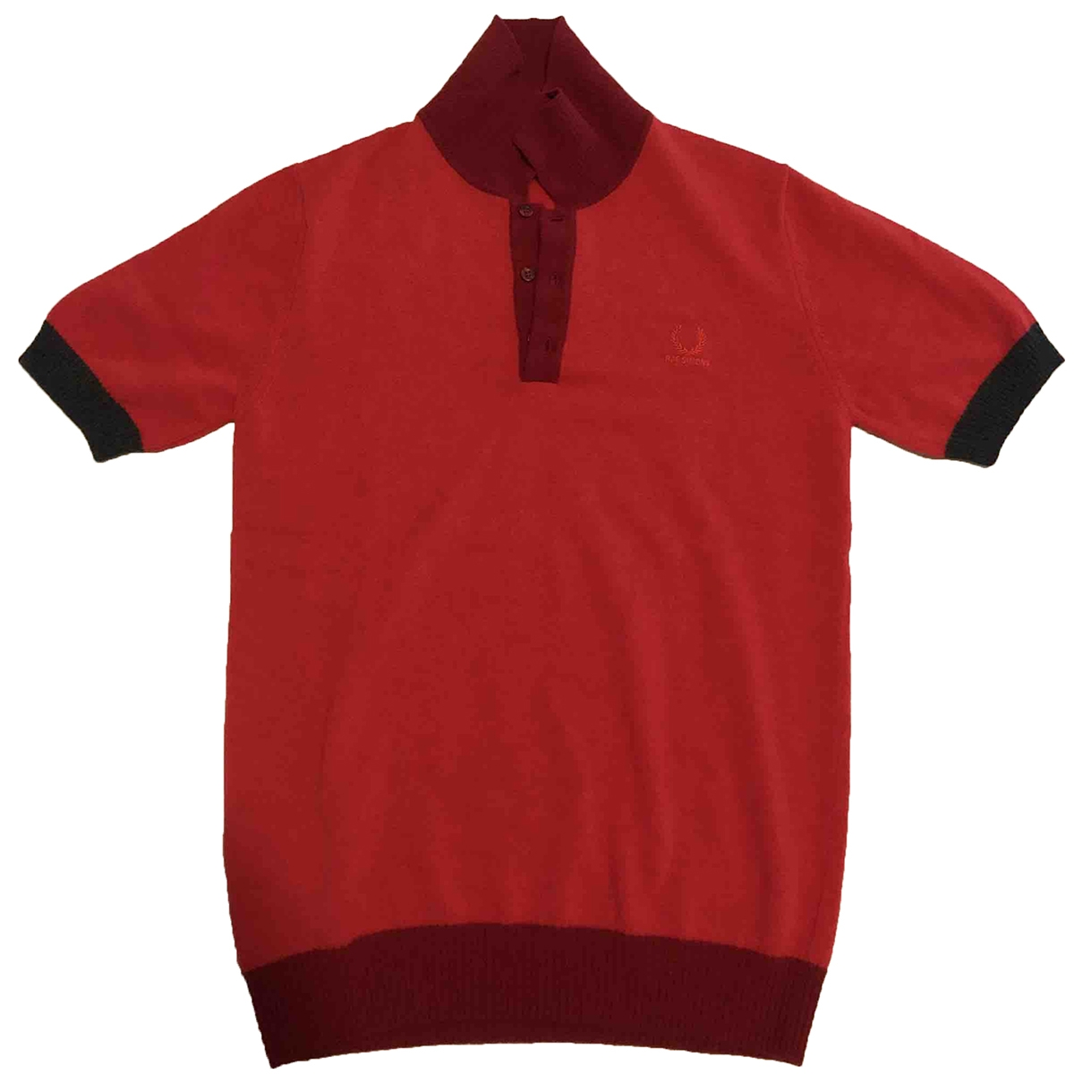 Fred Perry \N Poloshirts Rot
