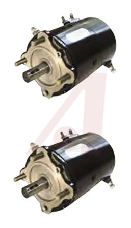 AMETEK LAMB Brushed DC Motor, 3.36 kW, 24 V dc, 21.7 Nm, 4000 rpm