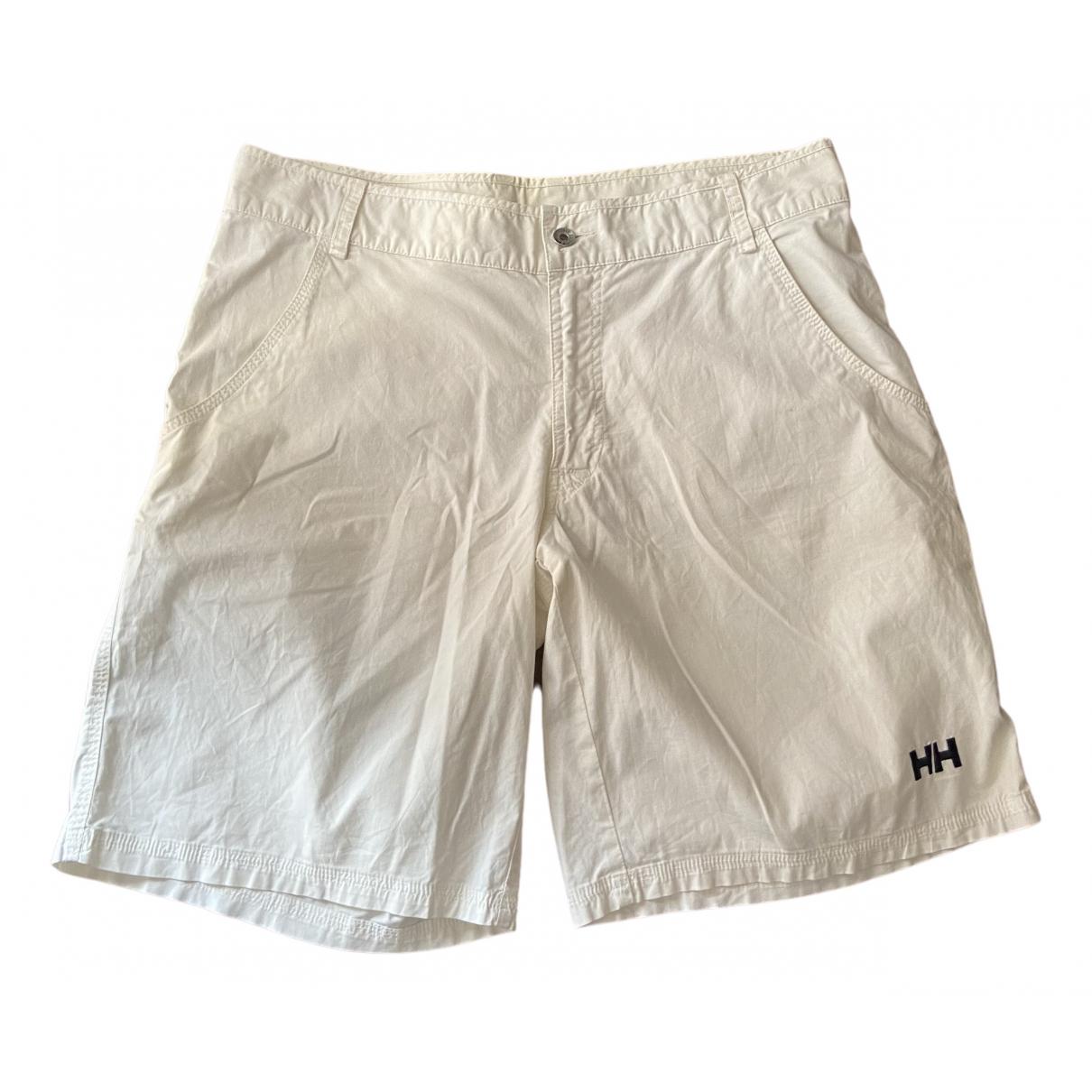 Helly Hansen \N Shorts in  Weiss Baumwolle