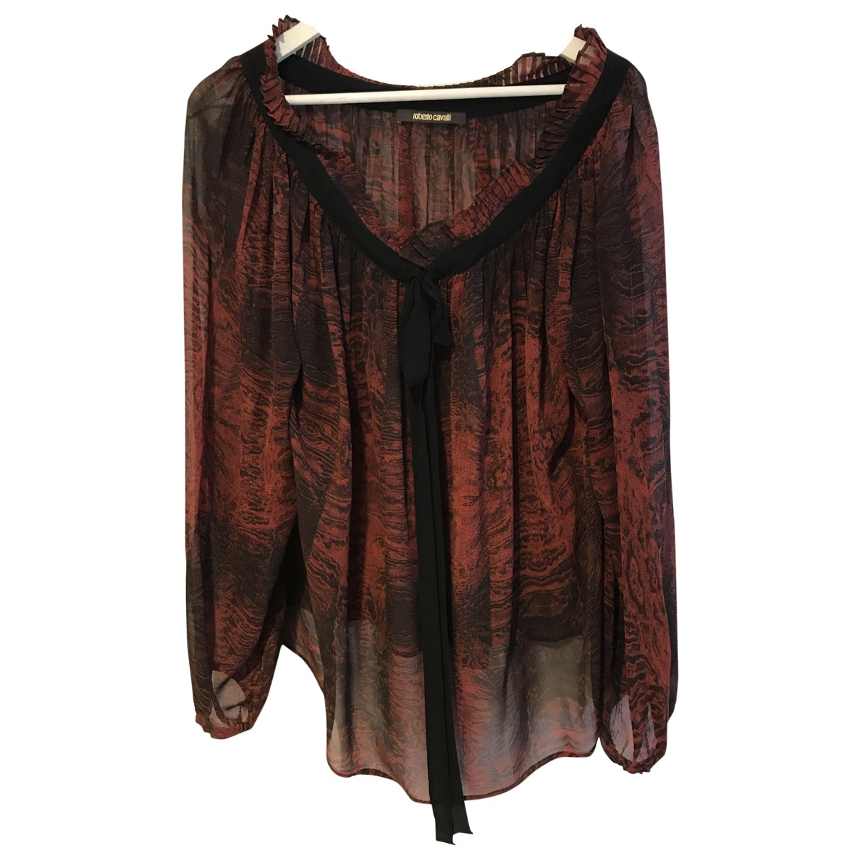 Roberto Cavalli \N Multicolour Silk  top for Women One Size IT