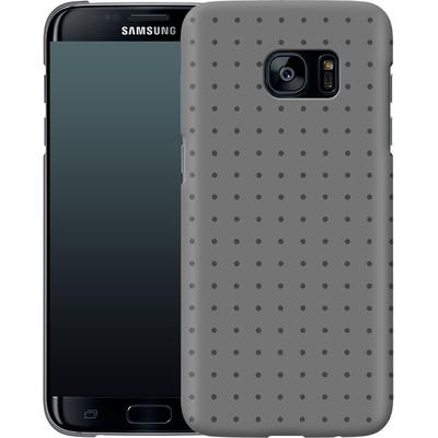 Samsung Galaxy S7 Edge Smartphone Huelle - Dot Grid Grey von caseable Designs